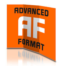 advanced format logo